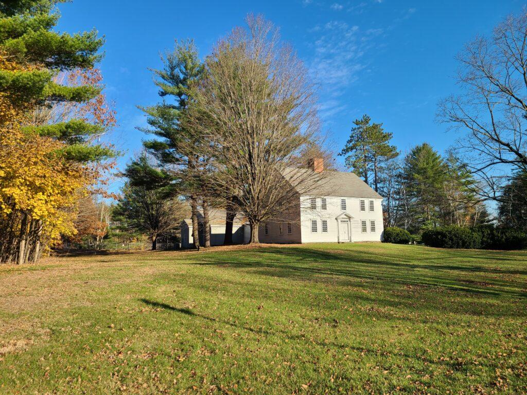 Governor Hunt House by Margaret Shipman